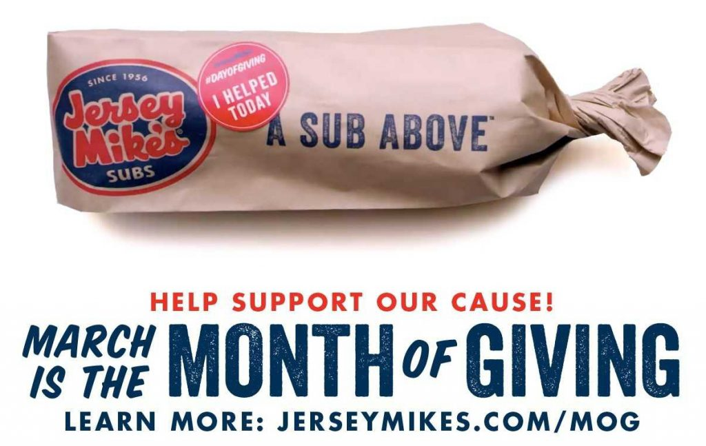 Jersey Mike's Hosts Month Of Giving With Support To Long Island