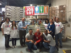 OS Job Lot 3 Square Meals donation 2016