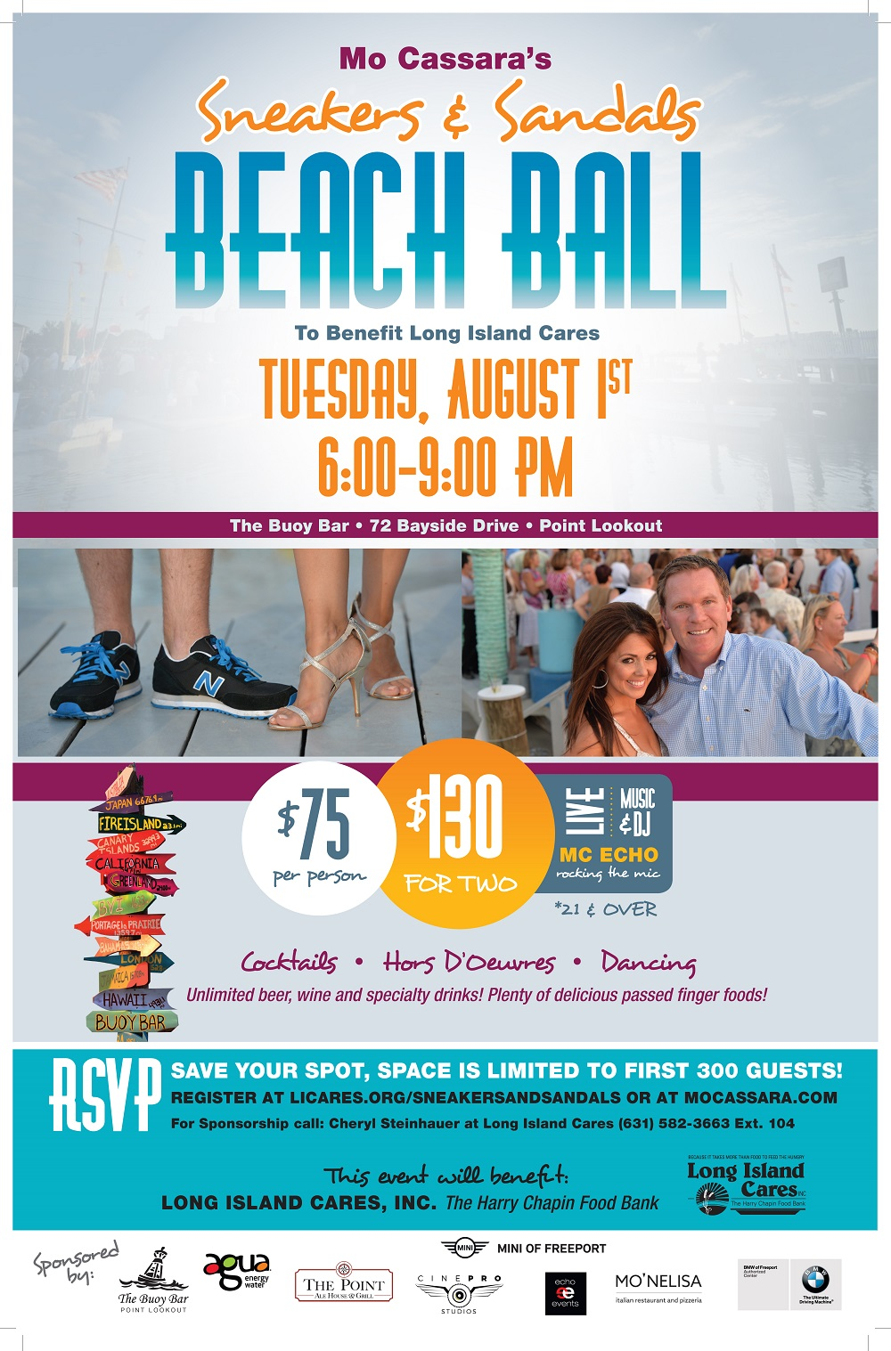 sneakers and sandals beach ball u2022 long island cares inc